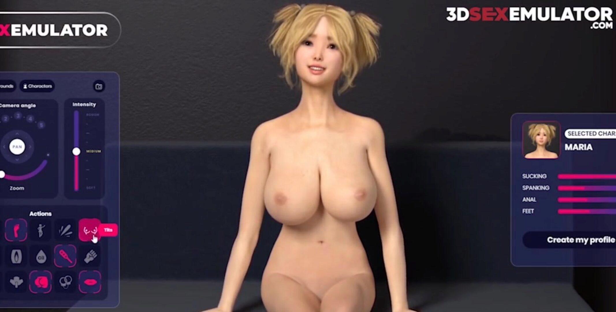 Anime mädchen nackt Dunkles Magier