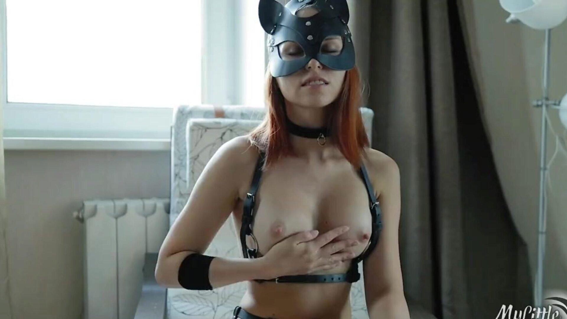 When my Master comes Home I Serve him and he Feed me with Cum. SOFT BDSM