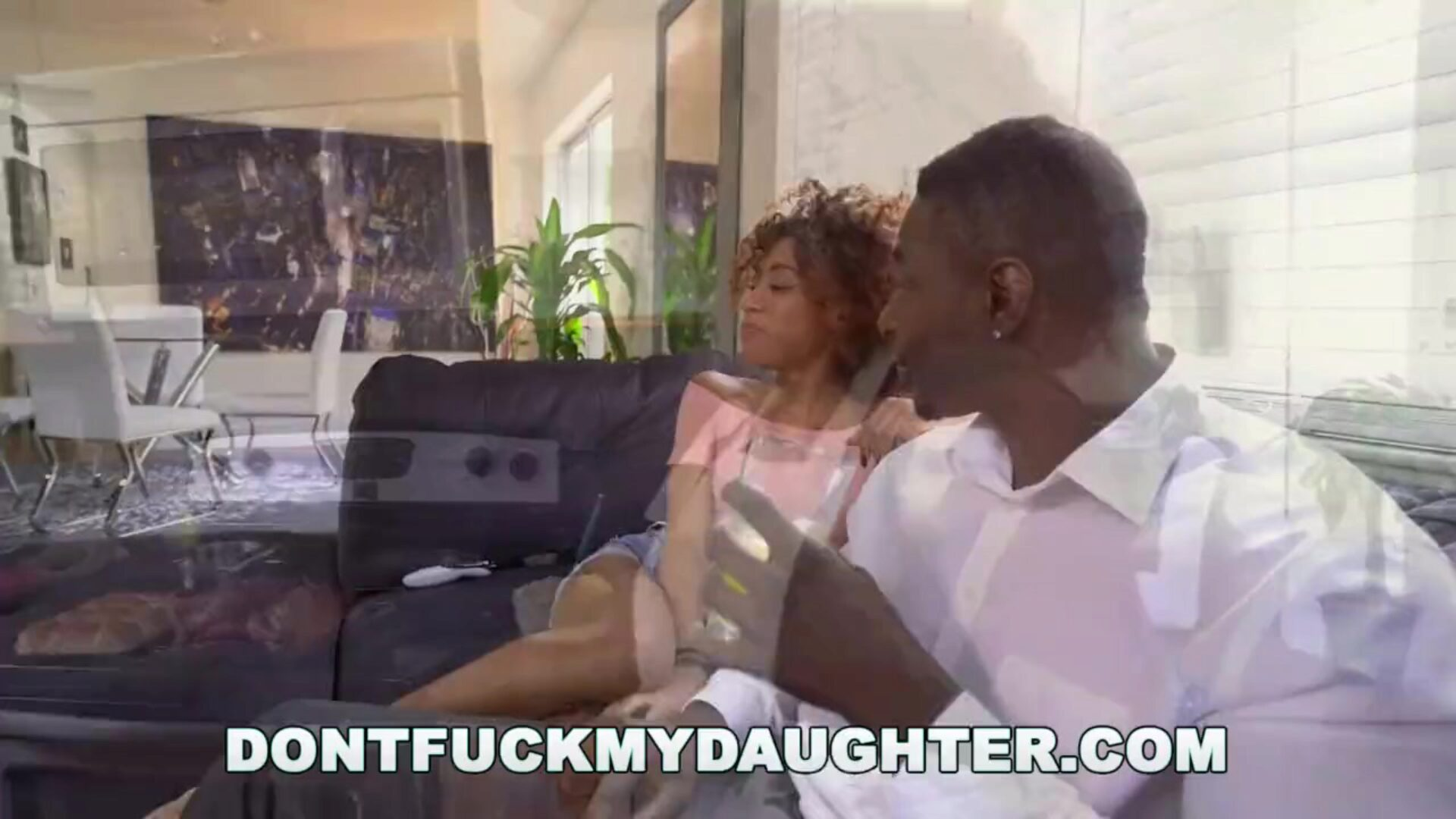 DON'T FUCK MY DAUGHTER - Ebony Teen Kendall Woods Suckin' Dick