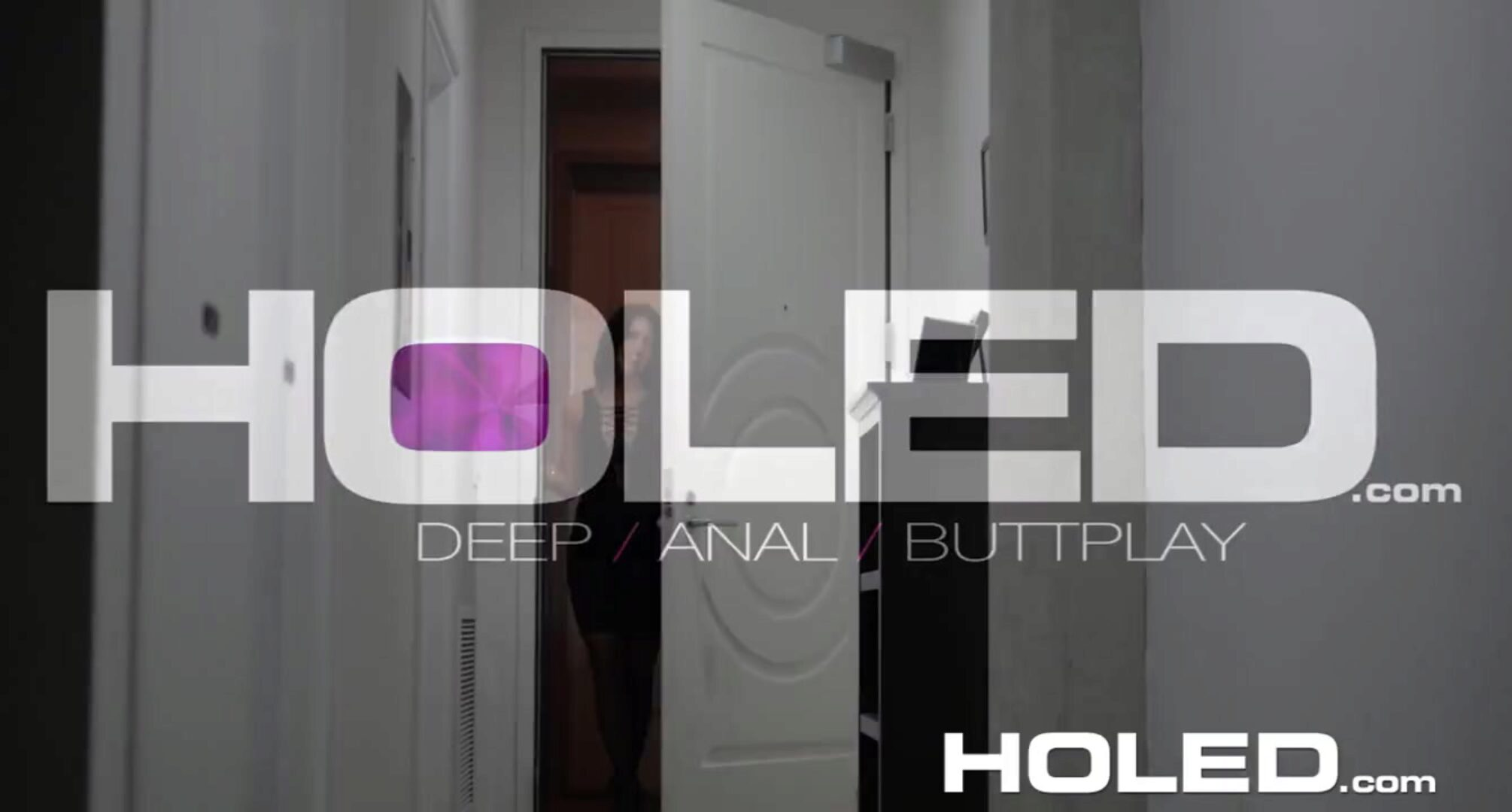 HOLED - Adriana Chechik bound up for brutal assfucking pulverize