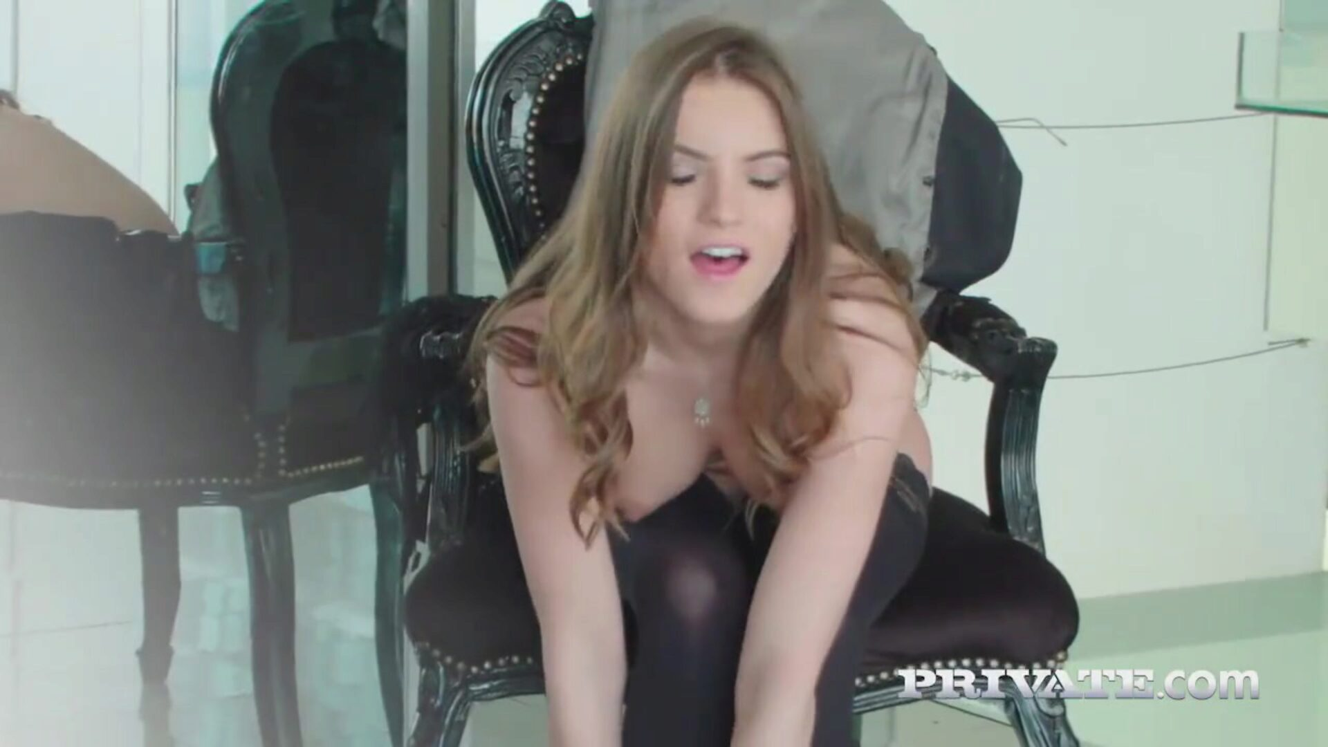Evelina Darling, addicted to lingerie and and anal hook-up He tongues out her constricted butt and then she comes back the favor with a dirty oral-stimulation before spreading out her thighs and taking a unfathomable and appealing cookie romping
