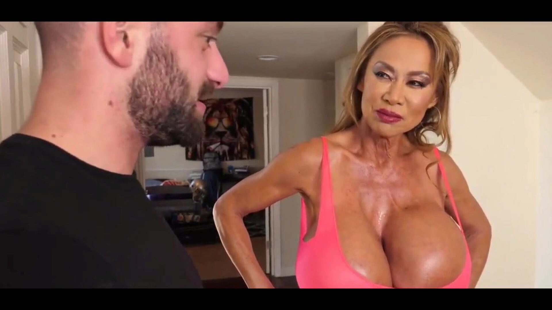 59 YO MOM FUCKS HER HORNY BWC STEPSON -B$R