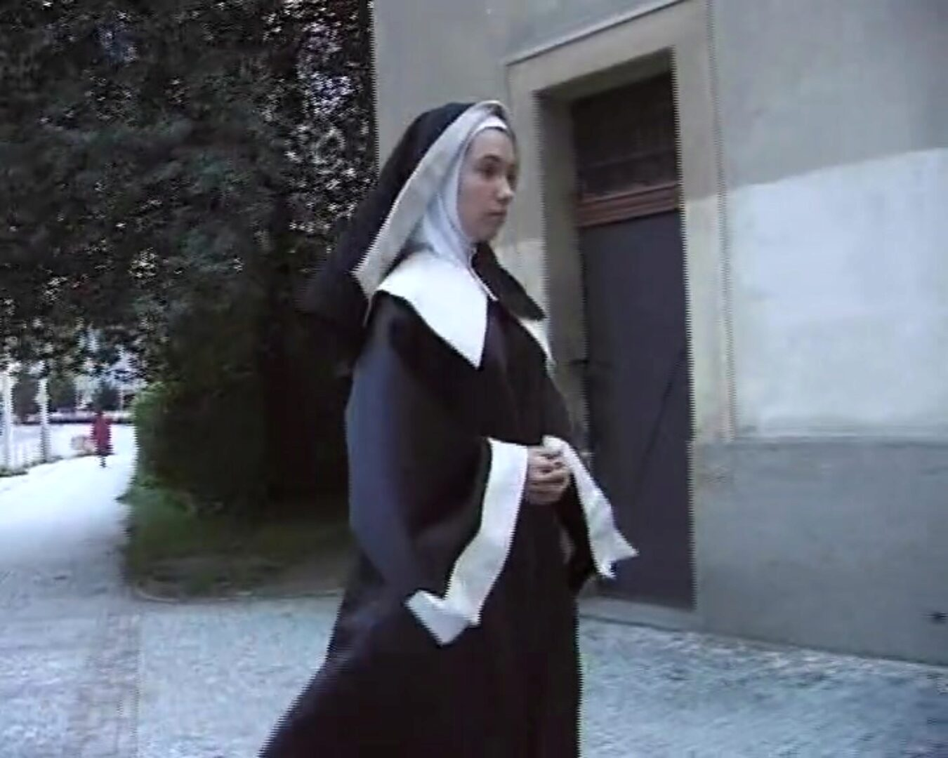 German nun gives in to seduction