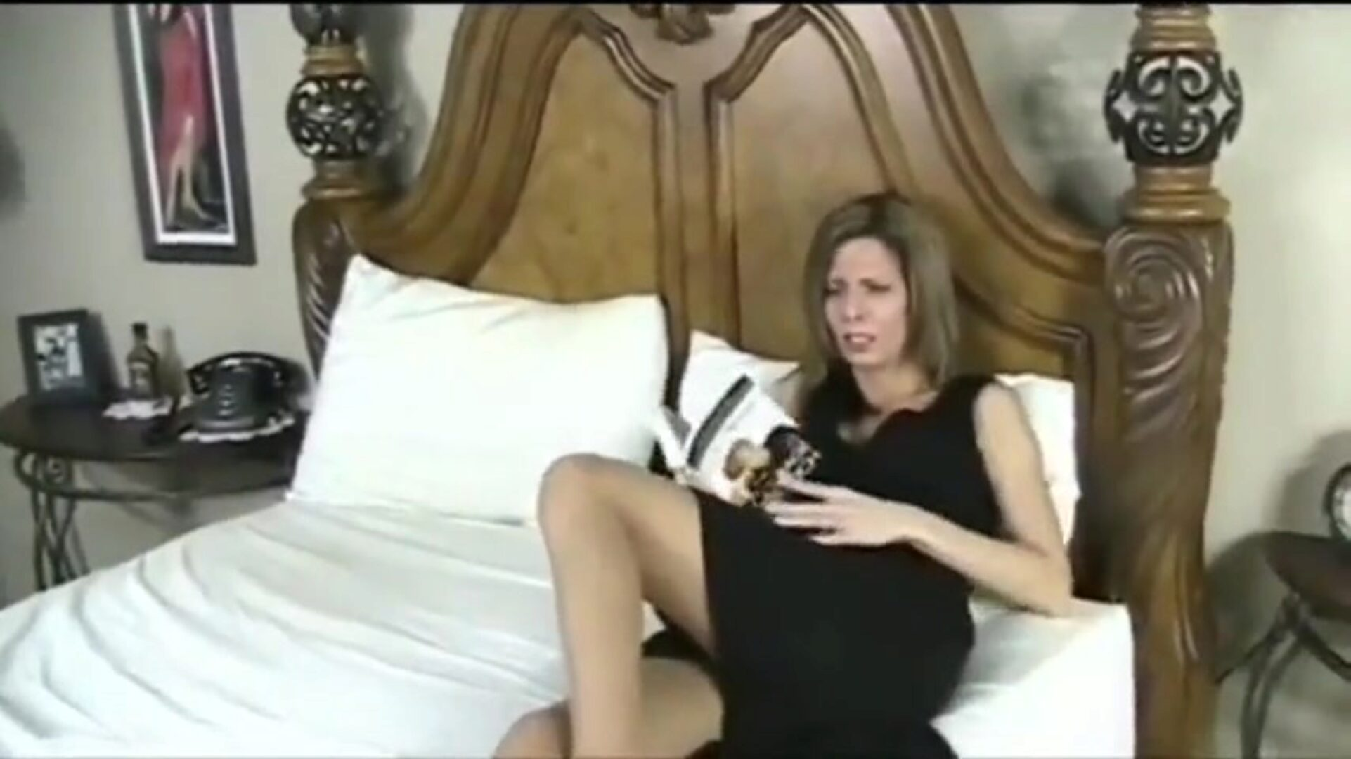 Stepmom blackmailed into assfuck