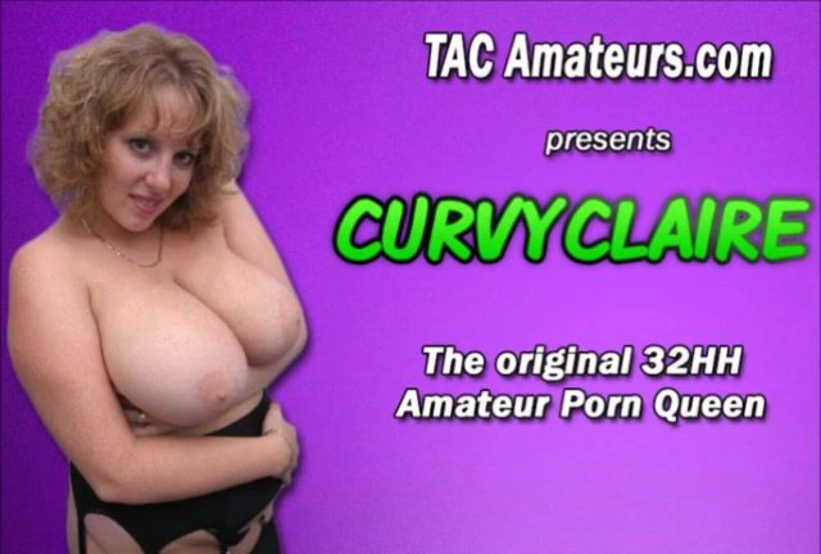 32HH Housewife CurvyClaire stuffed and facial cumshot Amazing dilettante porn industry star / housewife CurvyClaire fucks a website member