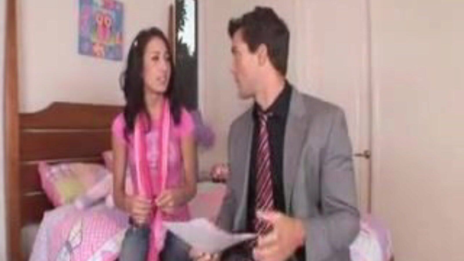 Amia Milley sexually excited baby sitter Amia bonks for a babysitting job