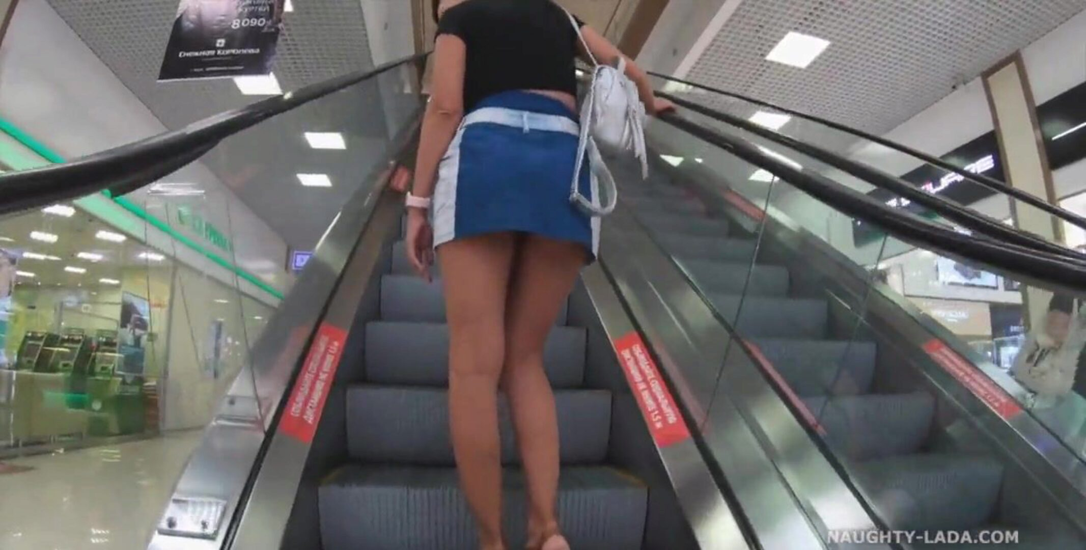 Shopping without panties I love most of all to shop without underclothing