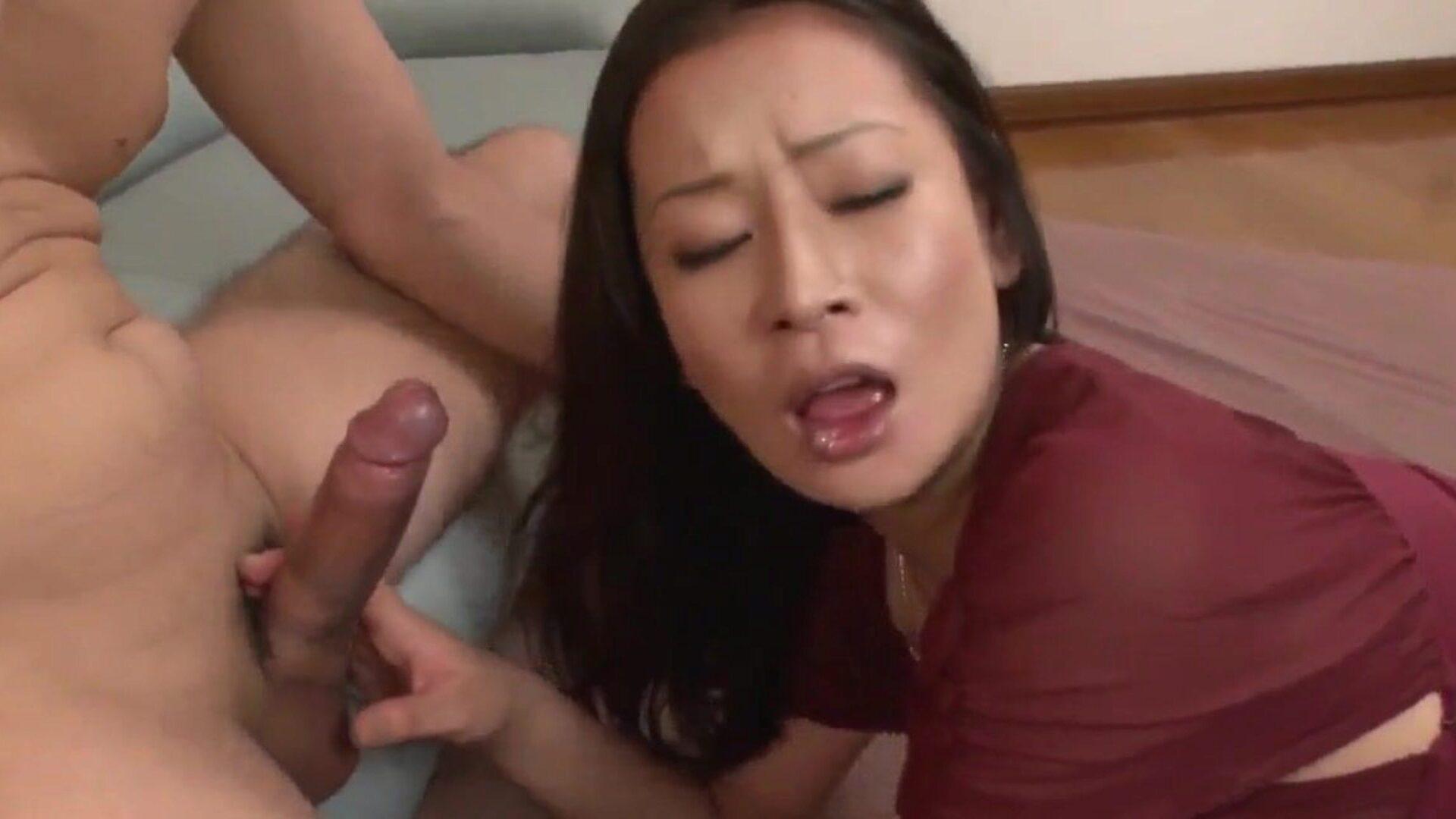 Asian Mom Porn